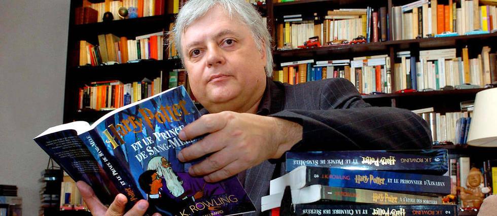 Jean-Francois Ménard, le traducteur d'Harry Potter.