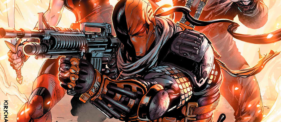 Warner et DC préparent un film centré sur Deathstroke.