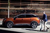 Podium. Avec 14617exemplaires écoulés, le SUV Peugeot 3008 est le deuxième modèle le plus vendu aux entreprises au premier semestre 2017.