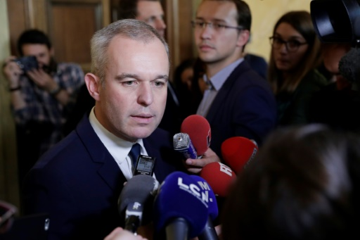 François de Rugy à l'Assemblée nationale le 25 octobre 2017 © Thomas SAMSON AFP