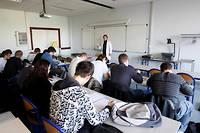 Seuls 37 % des étudiants des grandes écoles sont passés par une classe préparatoire. ©Frederic Maigrot/REA
