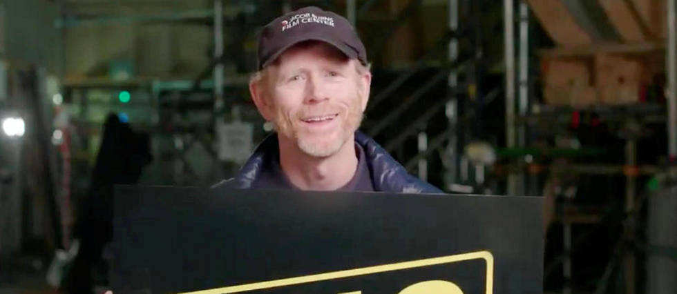 Ron Howard dévoilant mi-octobre le titre du prequel consacré à Han Solo.