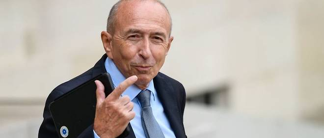 Gérard Collomb, ministre de l'Intérieur, était interrogé sur la loi antiterroriste, signée par Emmanuel Macron lundi 30 octobre et qui remplace l'état d'urgence.