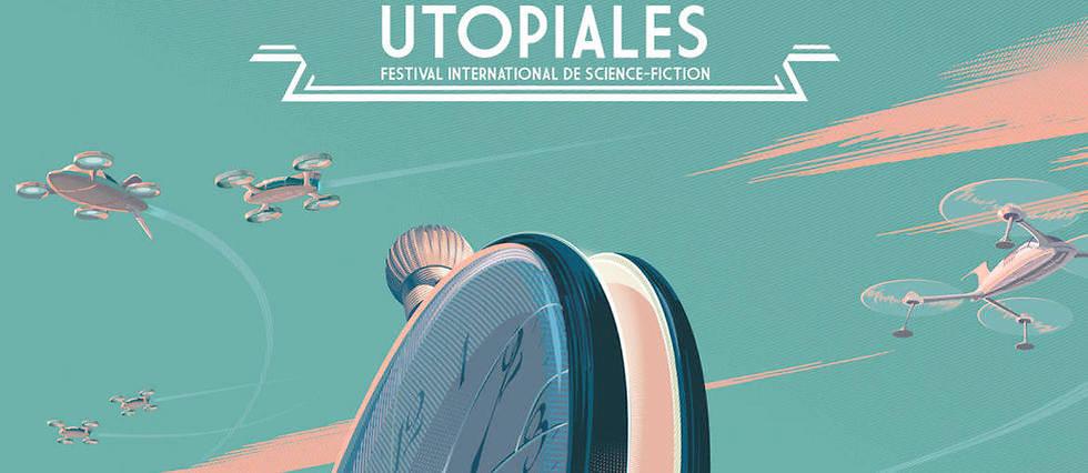 L'affiche des Utopiales.