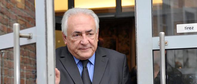 """Pour Dominique Strauss-Kahn, """"l'élection d'Emmanuel Macron a créé un tremblement de terre""""."""
