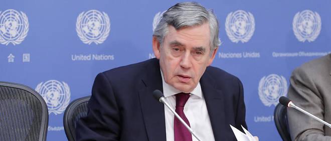 Gordon Brown était chancelier de l'Échiquier au début de la guerre en Irak.