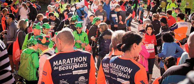 L'édition 2016 du Marathon international du Beaujolais