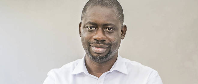 Felwine Sarr, auteur et professeur d'économie, Dakar, 2017.