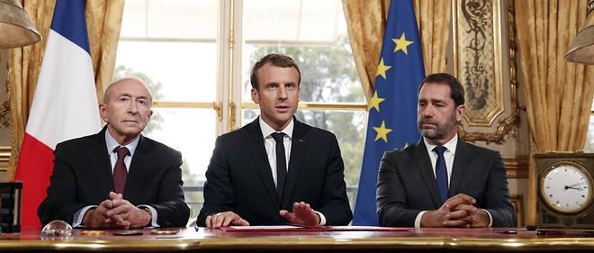 Emmanuel Macron s'est montré ferme lors d'un conseil des ministres.