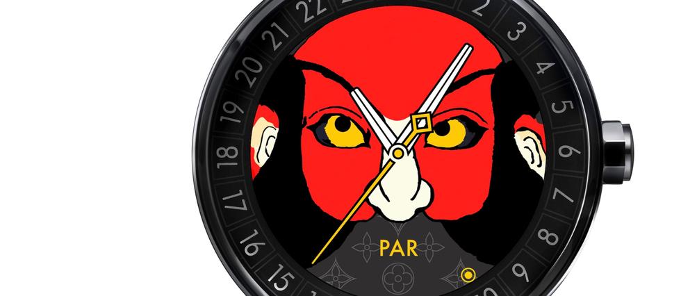 La smartwatch de Louis Vuitton part pour le Japon.