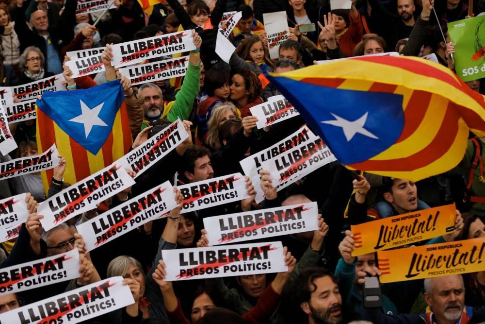 SPAIN-CATALONIA-DEMO-POLITICS ©  PAU BARRENA / AFP