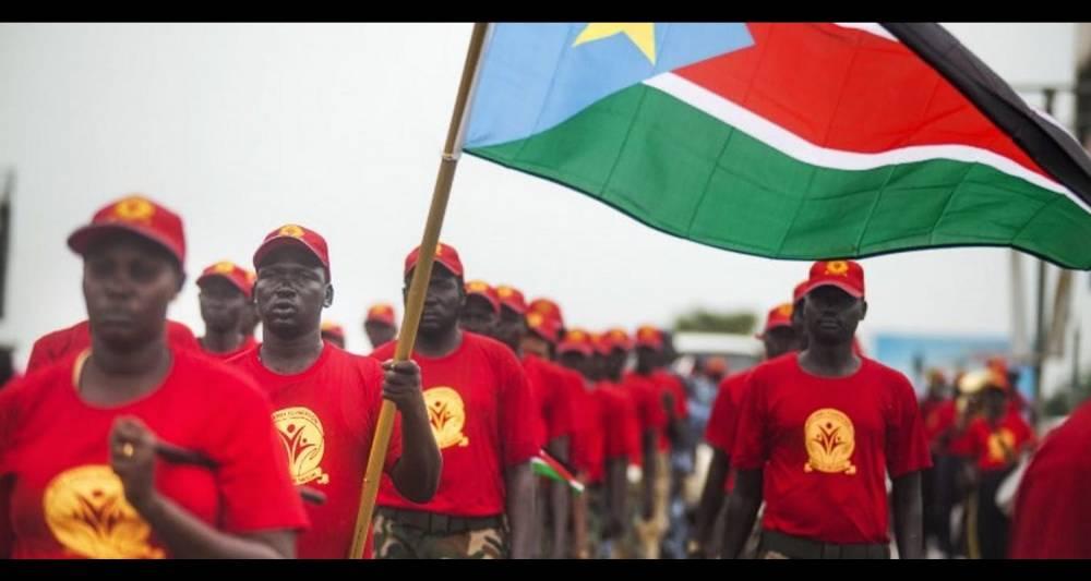 Sixième anniversaire de l'indépendance du Soudan du Sud, le 9 juillet 2017, à Juba.  ©  Albert Gonzalez Farran / AFP