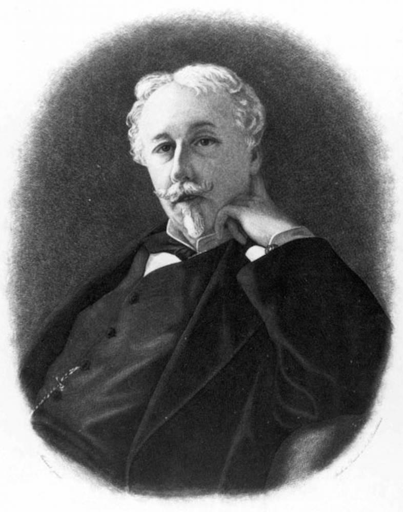 Arthur de Gobineau, théoricien des races. ©  Inconnu/Wikimedia