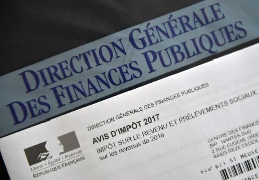 La réforme du prélèvement à la source, mesure fiscale phare de la fin du quinquennat Hollande, devait à l'origine entrer en vigueur début 2018 © LOIC VENANCE AFP/Archives