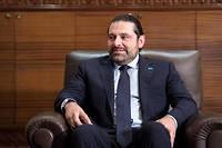 Saad Hariri, Premier ministre démissionnaire du Liban. ©BERND VON JUTRCZENKA