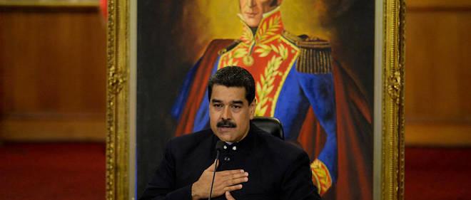 Le président vénézuélien Nicolás Maduro.