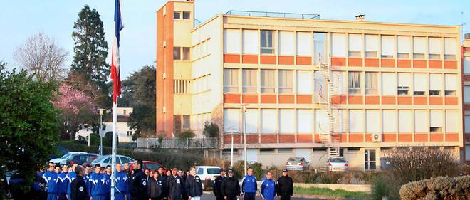 Malaise. Jeunes élèves de l'École de police de Toulouse.