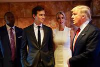 Le gendre de Donald Trump, Jared Kushner, a la délicate tâche de s'occuper du dossier du Proche-Orient.