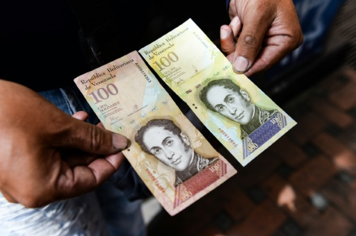 En raison des sanctions américaines, le Venezuela est coupé des marchés financiers, tout comme PDVSA © FEDERICO PARRA AFP/Archives