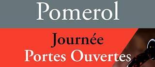 Affiche 2017 de la journée portes ouvertes le dimanche 19 novembre à Pomerol.