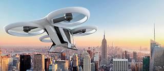Hélicoptère du XXIe siècle. Cet appareil pourra se poser sur des héliports situés au sommet de buildings. ©Airbus