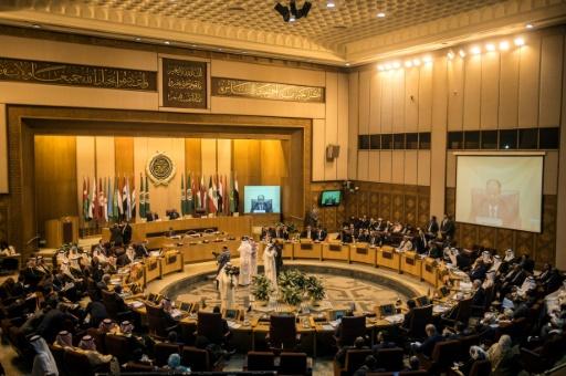 Réunion de la Ligue arabe le 19 novembre 2017 au Caire © KHALED DESOUKI AFP