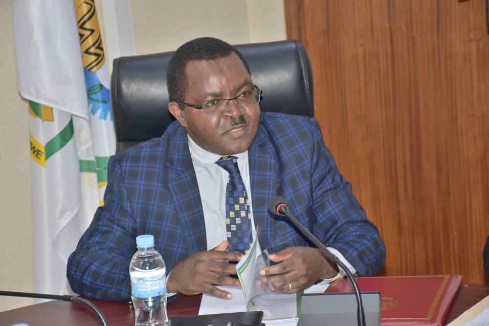 Vincent Munyeshyaka, ministre du Commerce et de l'Industrie du Rwanda.  ©  Minaloc Rwanda