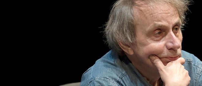 Michel Houellebecq lors d'une foire littéraire en Allemagne.