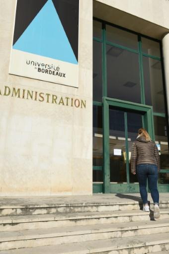 """Une étude révèle que le campus bordelais, fréquenté par 65.000 étudiants, est """"perçu comme anxiogène, surtout le soir, d'abord par ceux et celles qui y habitent"""".  © MEHDI FEDOUACH AFP"""