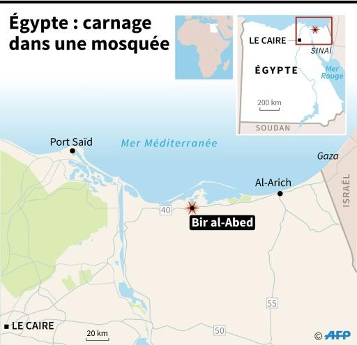 Egypte : carnage dans une mosquée © Jonathan STOREY AFP