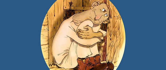 Tendresse. Illustration de Zep pour Albert Algoud, inspirée d'une nouvelle de Charles Ferdinand Ramuz.