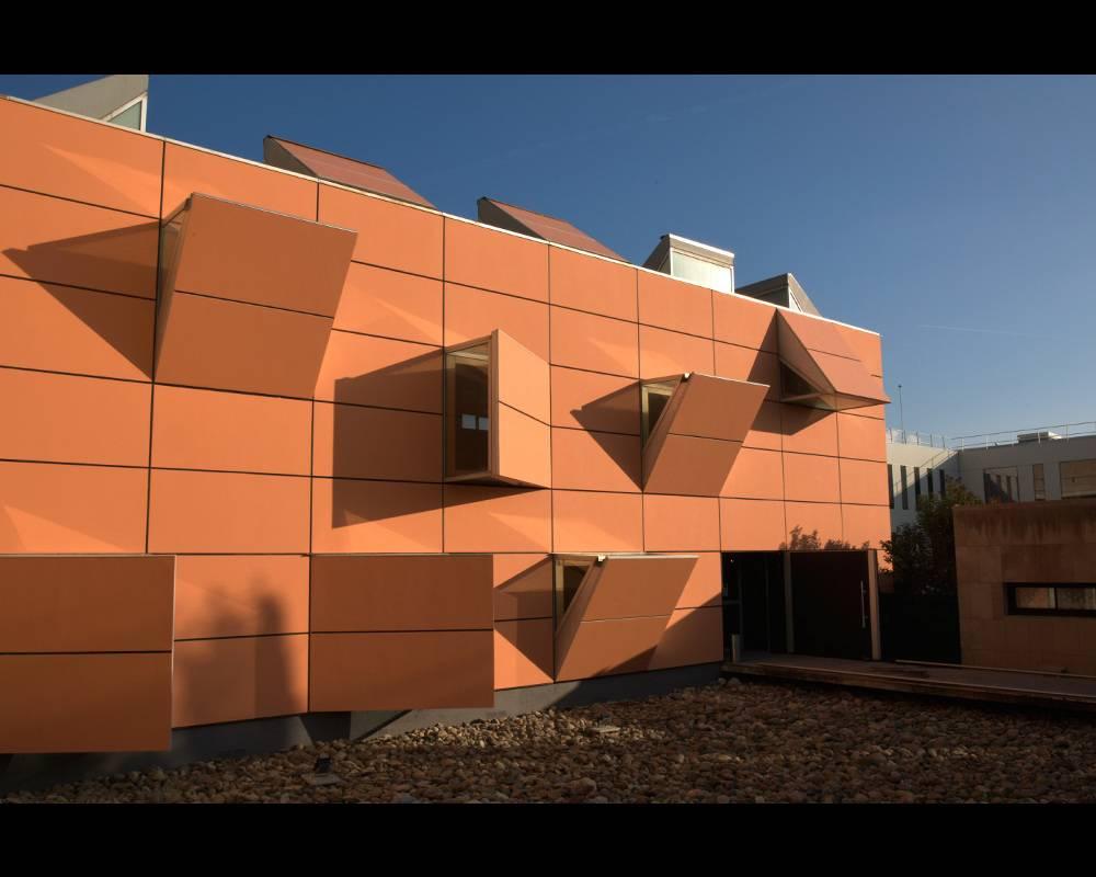 Le bâtiment des Archives nationales d'Outre-mer (ANOM) à Aix-en-Provence.  ©  DISSAIS JEAN-YVES