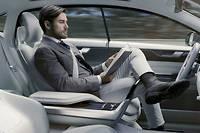Conduite, création, détente... Plus besoin de choisir. Ici le concept 26 de Volvo.