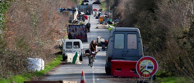 Maquis. Les zadistes ont bloqué la départementale 281 qui mène à Notre-Dame-des-Landes (ici, le 19 février 2014).