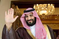Le prince héritier Mohammed ben Salmane le 11 avril. ©Bandar Algaloud/Courtesy of Saudi Royal Court/Reuters