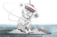 """Sylvain Tesson, journal de l'océan Indien. ©Dusault pour """"Le Point"""""""