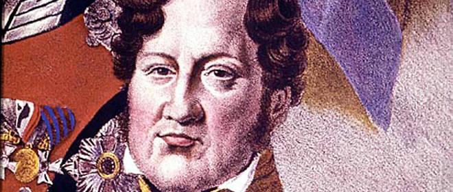 Portrait de Louis-Philippe (1773 - 1850). Gravure du XIXe siècle.