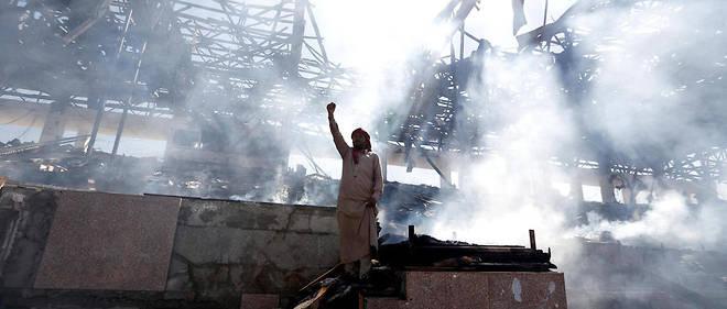 Les affrontements ont fait au moins 60 morts et blessés dans la capitale yéménite. (Illustration)