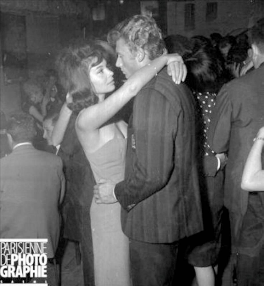 Patricia Viterbo avec Johnny ©  La Parisienne de Photographie/Capture d'écran