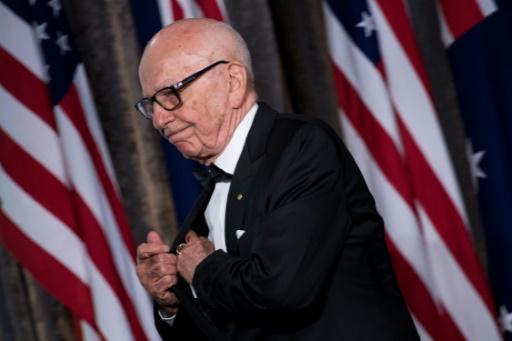 Rupert Murdoch, le 4 mai 2017 à New York © Brendan Smialowski AFP/Archives