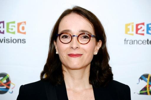 La présidente du groupe France Télévisions, Delphine Ernotte, le 29 juin 2016 à Paris © BERTRAND GUAY AFP/Archives