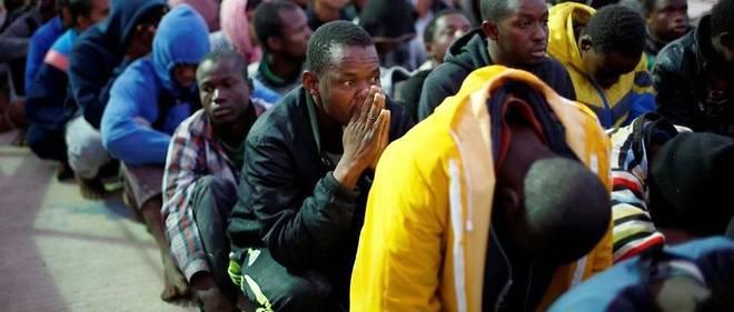 Sénégal, Gambie et Nigeria : selon l'OIM, ces trois pays sont ceux comptant le plus de candidats à l'émigration. Ici, des migrants en situation d'attente.
