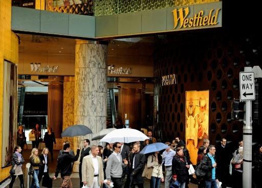 Le centre commercial Westfield dans le centre de Sydney, le 17 août 2011 © GREG WOOD AFP/Archives