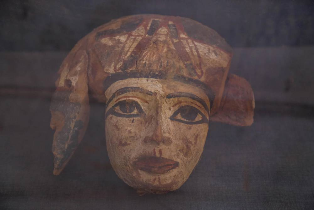 Egyptian archaeologists discover two tombs from 18th Dynasty pha ©  Ibrahim Ramadan / Anadolu Agency