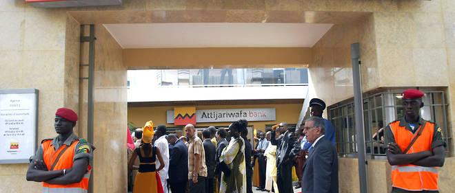 Une agence d'Attijariwafa Bank au Sénégal.