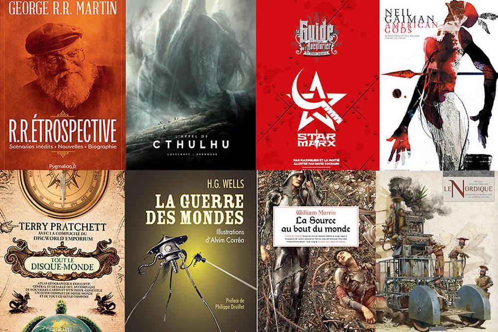 8 Beaux Livres De Fantasy Et De Science Fiction A Offrir