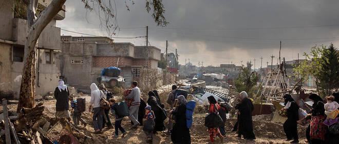 Certains djihadistes ont profité du choas pour se mêler aux réfugiés.