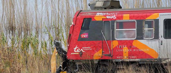 Le TER a percuté un bus scolaire jeudi au passage à niveau du lieu-dit Los Palaus, sur la commune de Millas, tuant cinq enfants.
