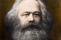 Portrait de Karl Marx (1818-1883). 1878, collection Leemage.