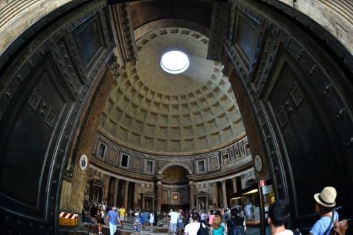 Le Panthéon de Rome, en août 2015 © GABRIEL BOUYS AFP/Archives